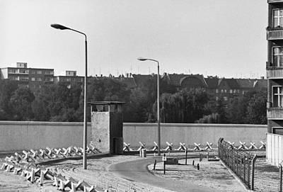 Berlin Wall, C. 1980 Art Print
