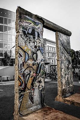 Western Art - Berlin wall by Chris Smith