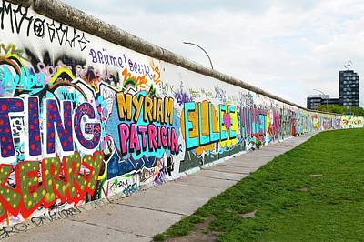 Berlin Wall Art Print by Ton Kinsbergen