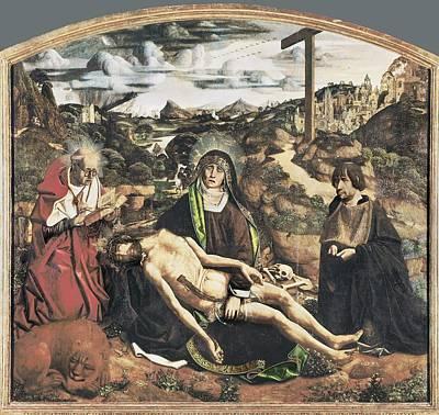 Bermejo, Bartolom� 1420-1498. Piet� Art Print