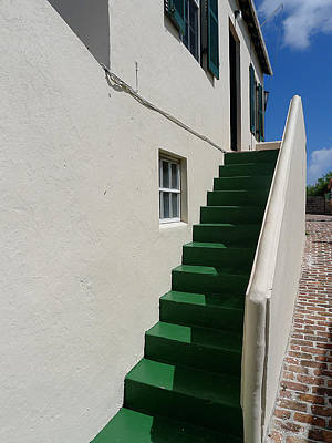 Photograph - Bermuda - St George's Stairs by Richard Reeve