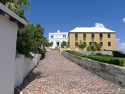 Photograph - Bermuda - St George's Street 1 by Richard Reeve