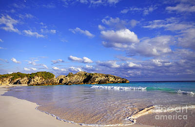 Photograph - Bermuda Horseshoe Bay by Charline Xia