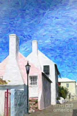 Art Print featuring the photograph Bermuda Side Street by Verena Matthew