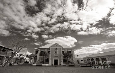 Photograph - Bermuda St George Town Hall by Charline Xia