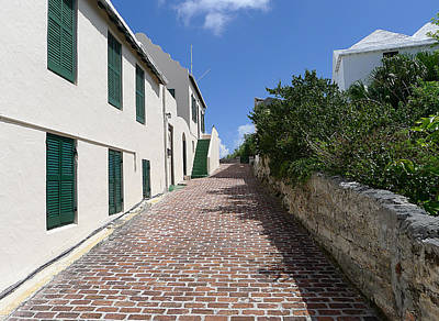 Photograph - Bermuda - St George's Street 2 by Richard Reeve