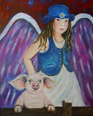 Painting - Bernadette And Bridgette by The Art With A Heart By Charlotte Phillips