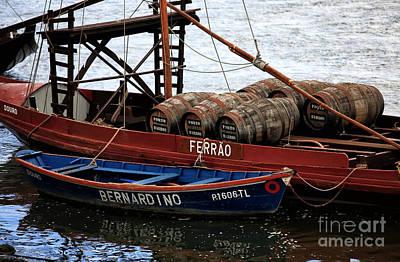 Wine Barrel Photograph - Bernardino by John Rizzuto