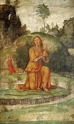 Prayer Drawing - Bernardino Luini, Procris Prayer To Diana by Litz Collection