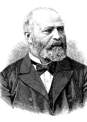 Psychiatry Photograph - Bernhard Von Gudden by Bildagentur-online/tschanz