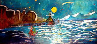 Bernie And Joe Skull Island Art Print