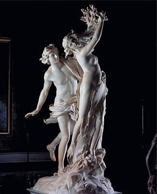 Bernini Gian Lorenzo, Apollo Art Print