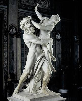 Nude Relief Photograph - Bernini Gian Lorenzo, The Rape by Everett