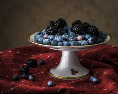 Photograph - Berries In Soft Light by James Barber