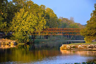 Berry Creek Bridge Art Print