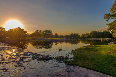 Photograph - Berry Creek Sun Set by John Johnson