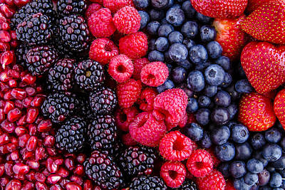 Local Food Photograph - Berry Delicious by Teri Virbickis