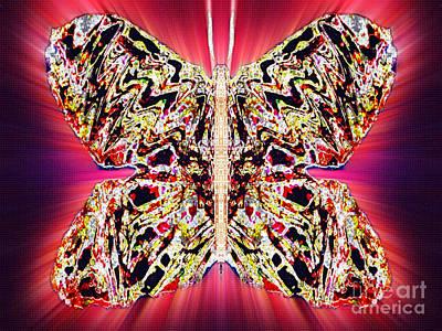 Blue Healer Digital Art - Berry Frostmeadow by Raymel Garcia