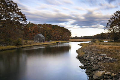 Marshes. Brooks Photograph - Berrys Brook by Eric Gendron