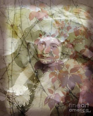 Edwardian Woman Digital Art - Bertha by Judy Wood