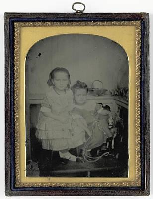 Bertha M. And Wilfred J. Hardcastl Taken Art Print
