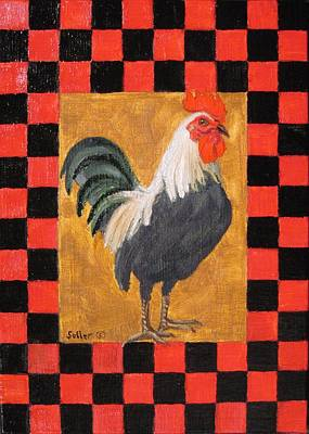 Painting - Beryl's Rooster by Ruth Soller