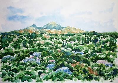 Painting - Beshtau by Zaira Dzhaubaeva