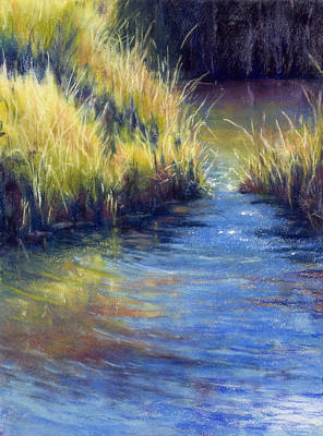 Painting - Beside Still Water by Marjie Eakin-Petty