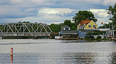Colonial Photograph - Beside The Bridge by Ginny Gillam