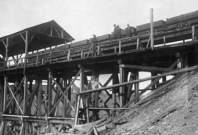 Photograph - Bessie Coal Mine, 1910 by Granger