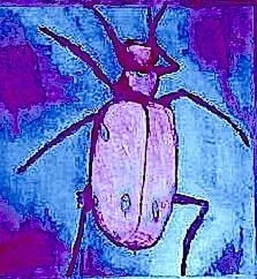 Mixed Media - Best-beetle by Dorothy Rafferty