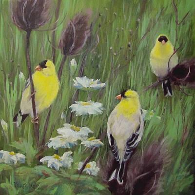 Painting - Best Buds by Karen Ilari