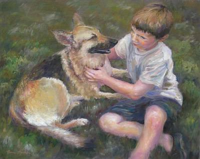 Painting - Best Friends by Bonnie Goedecke