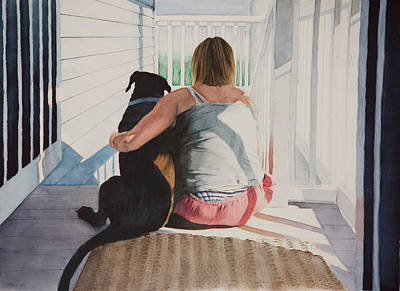 Painting - Best Friends by Christopher Reid