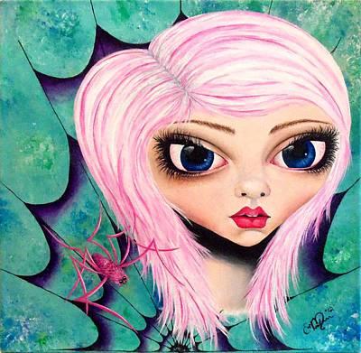 Best Friends Art Print by Oddball Art Co by Lizzy Love