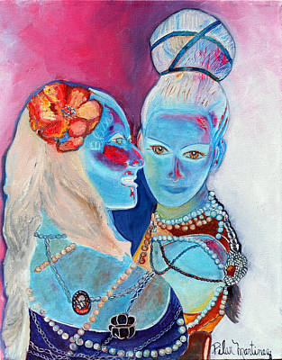 Painting - Best Friends by Pilar  Martinez-Byrne