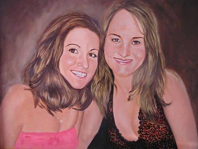 Painting - Best Friends by Sharon Schultz