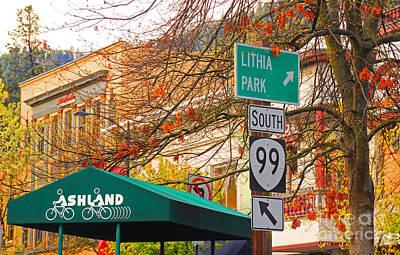 Best Little Town In Oregon Art Print by Kris Hiemstra