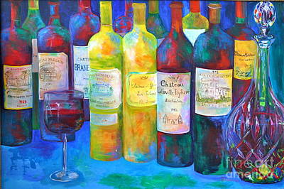 Best Of Bordeaux Print by Barbara Lynn Dunn