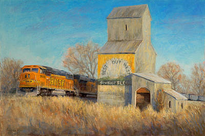 Painting - Best Out West by Gary Huber