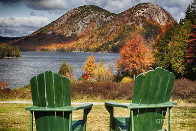 Best Seats In Acadia Art Print by George Oze