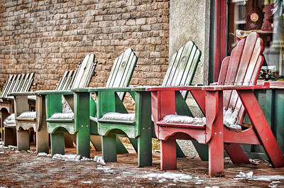 Photograph - Best Seats In Town by Heather Applegate