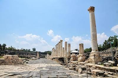 Hellenistic Photograph - Bet Shean (scythopolis) by Photostock-israel