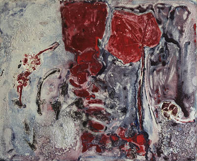 Printmaking Mixed Media - Bete Noire - Number Four From M. Laur And Aude Cosette Series by Sandra Gail Teichmann-Hillesheim