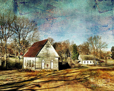 Photograph - Bethany Baptist Church Enid Ms by T Lowry Wilson