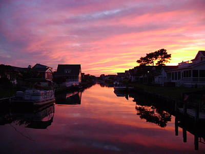 Photograph - Bethany Beach Sunset by Chris Montcalmo