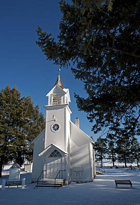 Photograph - Bethany Church by Doug Davidson