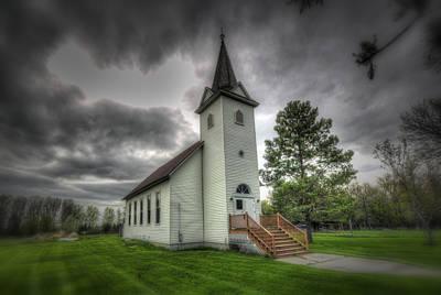 Photograph - Bethany Prairie Church by David Foster
