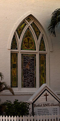 Photograph - Bethel A M E  Key West by Ed Gleichman