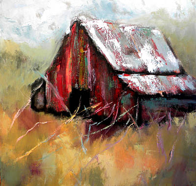 Tin Roof Painting - Bethel Road by Lisa Moore